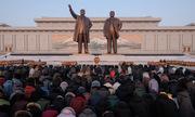 Người Triều Tiên kỷ niệm ngày sinh cố lãnh đạo Kim Jong-il giữa trời -8 độ C