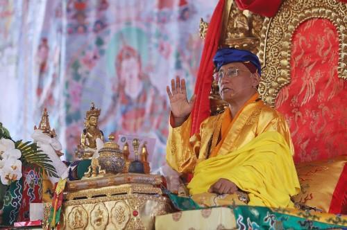 Đức Gyalwang Drukpa. Ảnh: Ngọc Thành