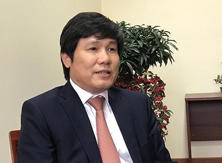 Ông Đinh Việt Thắng, Cục trưởng Hàng không Việt Nam. Ảnh: Đoàn Loan.