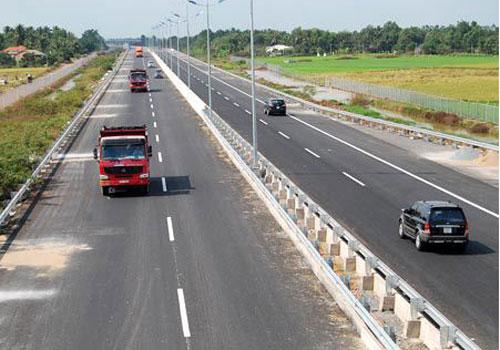 Cao tốc Trung Lương - Mỹ Thuận sẽ kết nối với cao tốc TP HCM - Trung Lương.