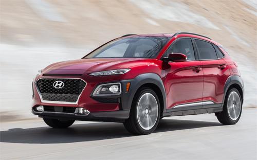 Kona hiện là chiếc crossover nhỏ nhất của Hyundai.