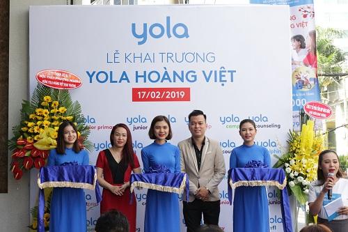 YOLA khai trương trung tâm mới tại quận Tân Bình