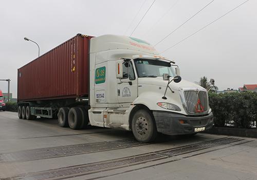 Cân tải trọng xe hiện đại nhất Việt Nam đặt trên quốc lộ 5 - ảnh 1