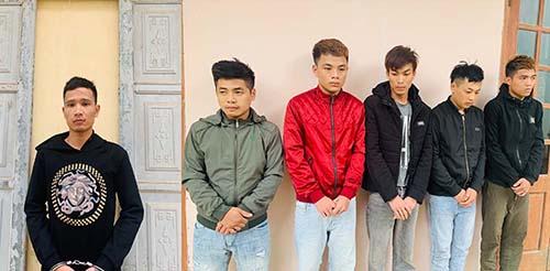 Trương Xuân Linh (trái) và đồng phạm. Ảnh: Lam Sơn.
