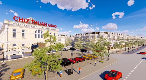 Dự án quy hoạch nhà phố cao ba tầng, sát khu dân cư nhiều tiện ích hiện hữu.