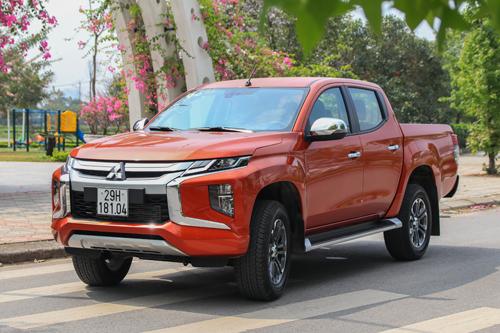 Mitsubishi Triton mới tại Hà Nội. Ảnh: Đức Huy