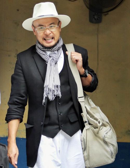 Ông Đặng Lê Nguyên Vũ sau phiên tòa. Ảnh:Thành Nguyễn.