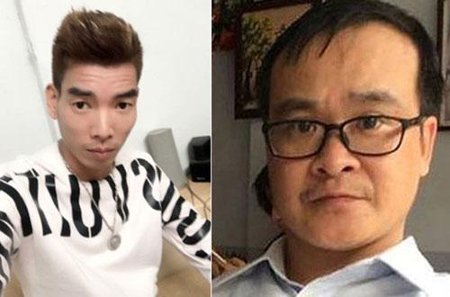 Bị can Tùng và Phong (từ trái qua).