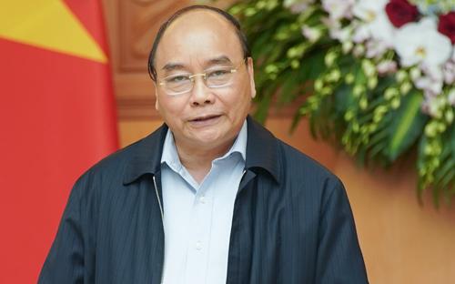 Thủ tướng Nguyễn Xuân Phúc. Ảnh: VGP.