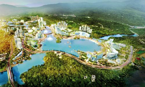 Huyện đảo Vân Đồn. Ảnh: PV.