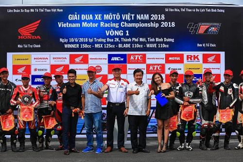 Giả đua xa mô tô Việt Nam 2018.