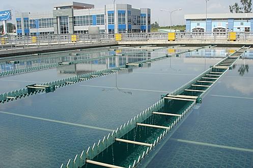 Nhà máy nước BOO Thủ Đức. Ảnh: CII