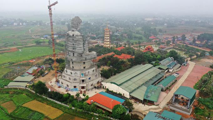 Tượng phật lớn nhất Đông Nam Á gấp rút hoàn thành
