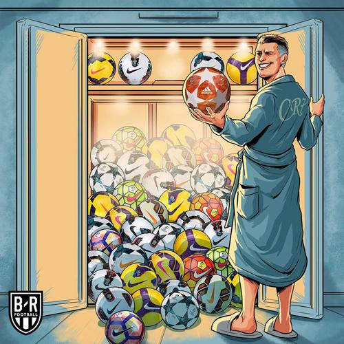 Lại thêm 1 cú hattrick nữa trong bộ sưu tập của Ronaldo.