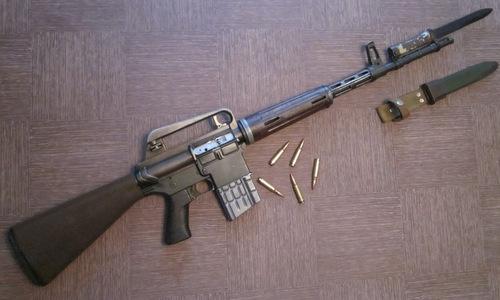 Một khẩu AR-10 được chế tạo tại Hà Lan. Ảnh: Wikipedia.