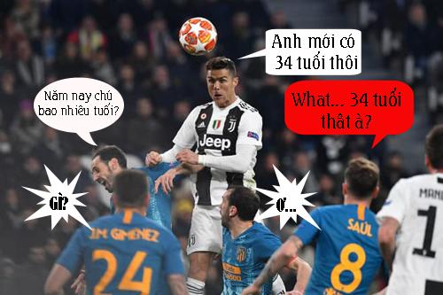 Ai tin Ronaldo năm nay đã 34 tuổi.