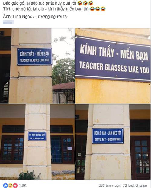 Lỗi dịch thuật được chia sẻ trên mạng.
