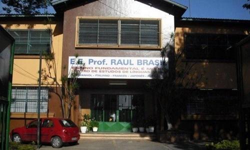 Trường Raul Brasil tại Sao Paulo. Ảnh: Twitter.