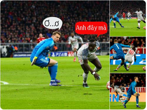 Neuer đã không lường trước được sự nguy hiểm của Mane.