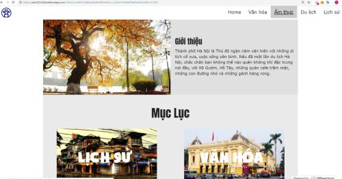 Bài tập lớn Xây dựng website đầu tiên của xTer Nguyễn Đình Anh.