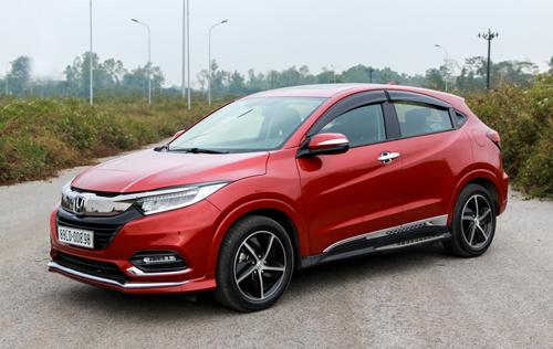 Honda HR-V giá cao nhất phân khúc, kém đa dạng các phiên bản hơn hai đối thủ cùng phân khúc. Ảnh: Đức Huy.