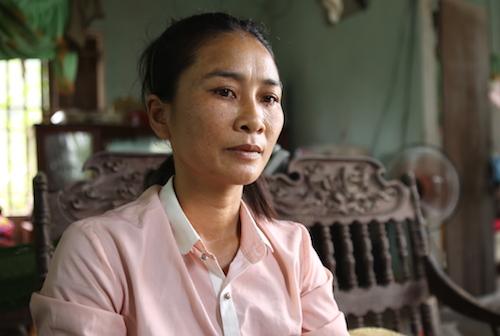 Bà Hồ Thị Hoa. Ảnh: Nguyễn Hải.