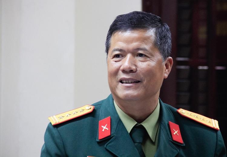 Đại tá Vũ Xuân Tiến. Ảnh: Dương Tâm