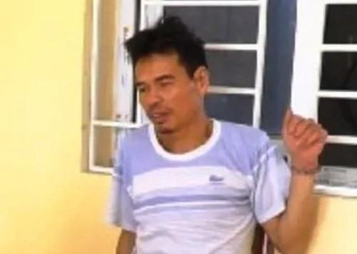 Đỗ Đình Tiến bị nhà chức trách cáo buộc cố ý gây thương tích cho trưởng và phó công an xã Minh Đức, huyện Mỹ Hào (Hưng Yên). Ảnh: CTV