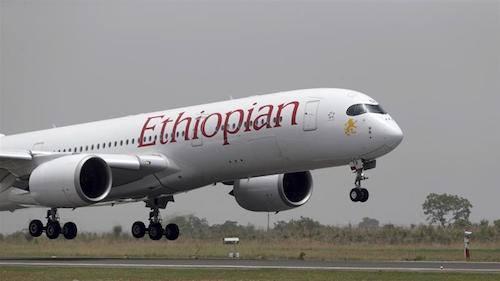 Một máy bay của hãng Ethiopian Airlines. Ảnh: Al Jazeera