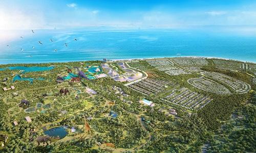 Dự án định hướng phát triển dựa trên yếu tố du lịch sinh thái bền vững, khám phá thiên nhiên và bảo tồn môi trường hoang dã.