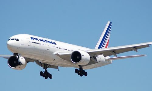 Một máy bay của hãng hàng không Air France, Pháp. Ảnh: Hospitality-on.com.