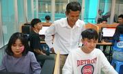 360 học sinh Quảng Ngãi trải nghiệm một ngày làm sinh viên