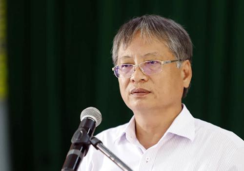 Ông Nguyễn Ngọc Tuấn - ngyên Phó chủ tịch UBND TP Đà Nẵng giai đoạn 2012 - 2018. Ảnh: Nguyễn Đông.
