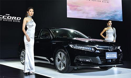 Honda Accord 2019 giới thiệu tại Thái Lan.