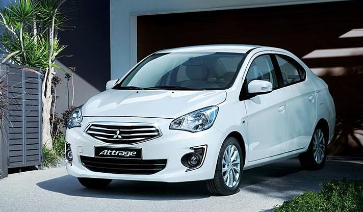 Đánh giá Mitsubishi Attrage bản CVT?