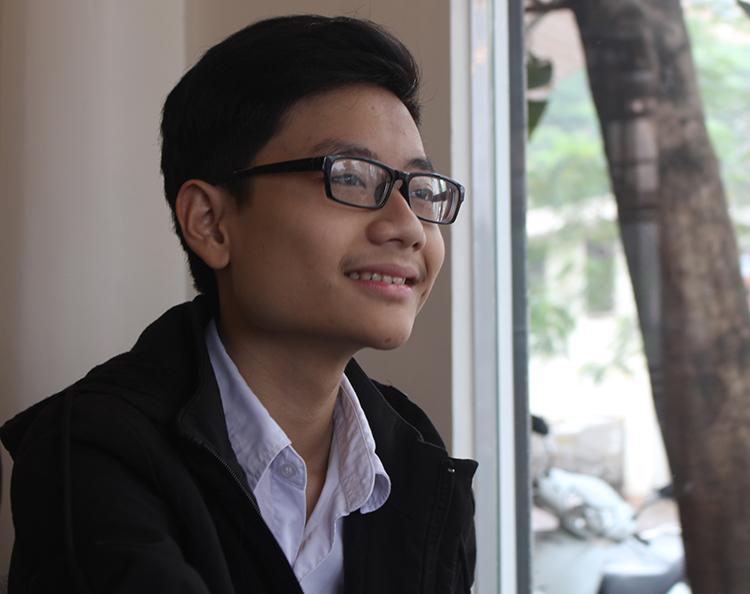 NguyễnTấn Minh. Ảnh: P.Minh.