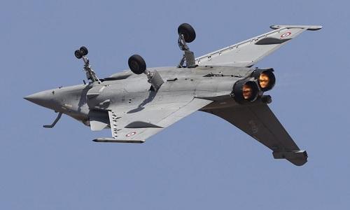 Một tiêm kích Rafale của không quân Pháp. Ảnh: AP.