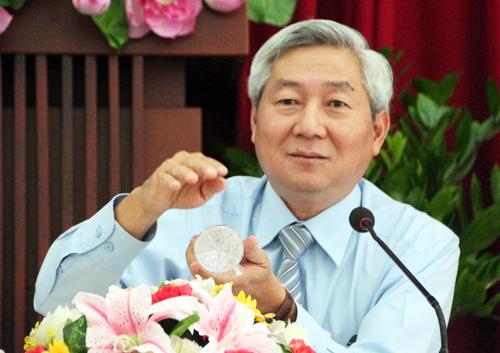 Phó ban quản lý đường sắt đô thị TP HCM Hoàng Như Cương. Ảnh: Hữu Công