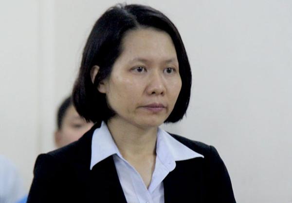 Cựu tổng giám đốc Oceanbank Nguyễn Minh Thu.