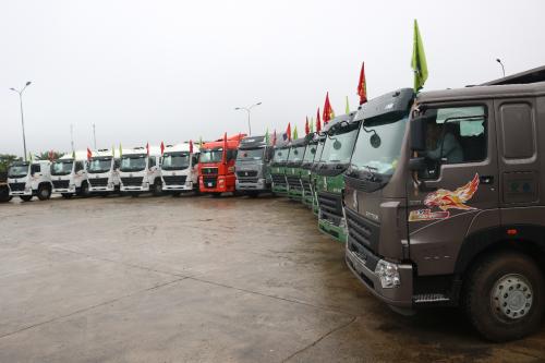 Số lượng lớn xe Howo đạt tiêu chuẩn khí thải Euro 4 đã được nhập khẩu cuối 2018, đầu 2019