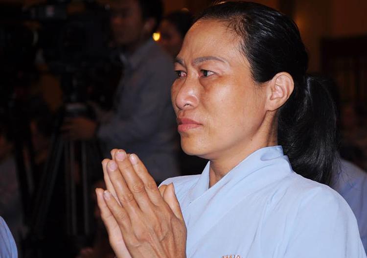 Phật tử sám hối bảy ngày trước khi làm lễ 'trục vong'