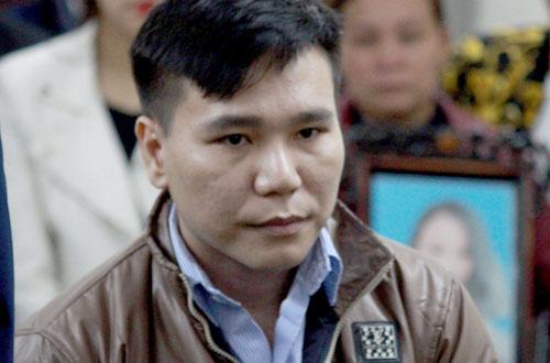 Bị cáo Cường tại phiên tòa sơ thẩm ngày 7/3.