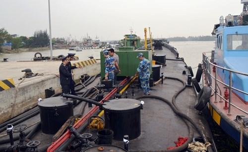 23.000 lít dầu không rõ nguồn gốc bị bắt giữ -