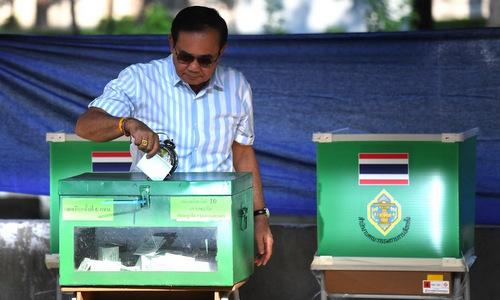 Thái Lan tổ chức tổng tuyển cử lần đầu sau 8 năm - ảnh 1