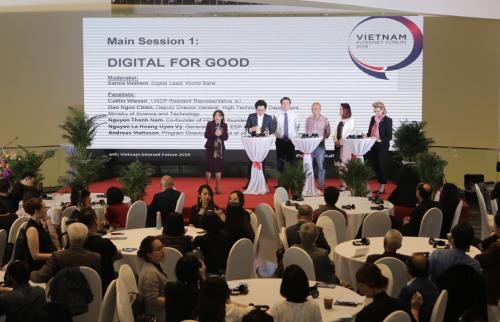 Các khách mời tại VIF19 Digital for Good