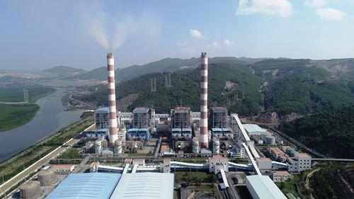 Công ty cổ phần Nhiệt điện Quảng Ninh. Ảnh: Bình Minh