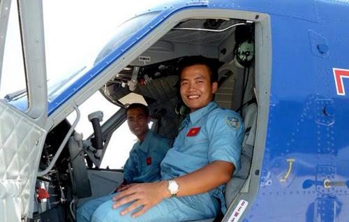 Nguyễn Văn Thuận, Phó Phi đội trưởng Phi đội 2, Lữ đoàn 954, Quân chủng Hải quân từng trúng tuyển khóa học thủy thủ tàu ngầm. Ảnh: Nhân vật cung cấp