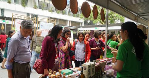 Được tổ chức từ ngày 20 - 24/3 tại Bảo tàng Phụ nữ Việt Nam (36 Lý Thường Kiệt, Hoàn Kiếm, Hà Nội)