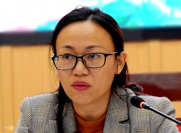 Giám đốc Sở Thông tin Truyền thông Lê Ngọc Hân. Ảnh: Minh Cương