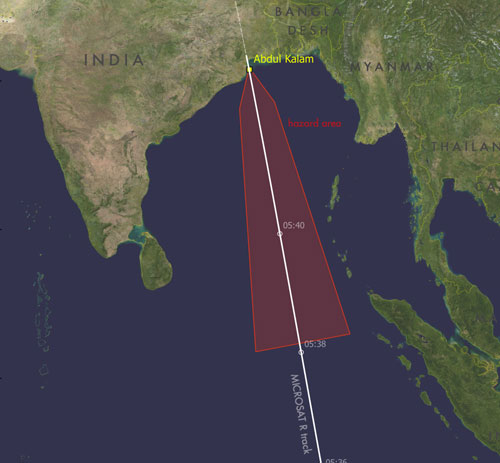 Mỹ cảnh báo hiểm họa từ vụ Ấn Độ thử tên lửa diệt vệ tinh - ảnh 3